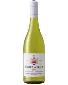 Haute Cabriere Chardonnay Unwooded Franschhoek 2020
